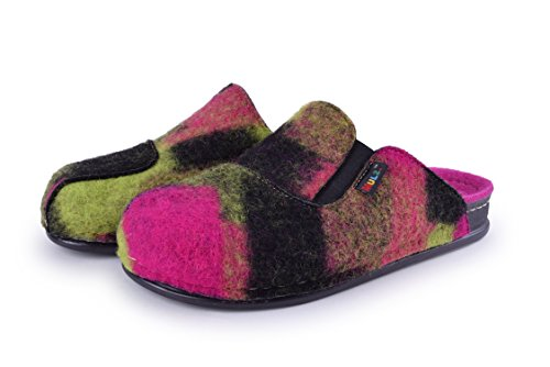 Slippers Unisex Size Multi Mulz amp; Outdoor Made Europe Indoor Shoes Fuchsia Wool House 6 13 in dvtZqt