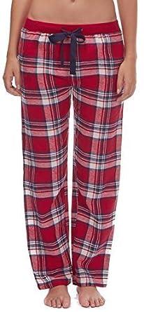 le dernier b5343 b5064 Femmes En Coton Flanelle À Carreaux Bas De Pyjama / Pantalon De Détente