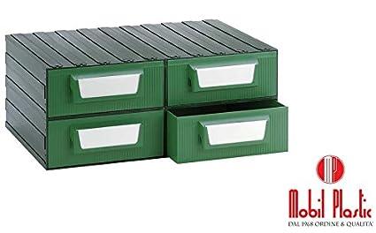 Cassetti Di Plastica Componibili.Cassettiera Modello F Componibile In Plastica Ad Alta Resistenza