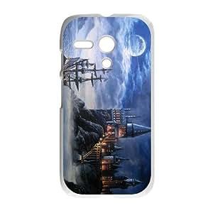 Motorola G Phone Case White Fairy tale castle1 Hsrmr