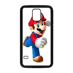 Mario Game Samsung Galaxy S5 Cell Phone Case Black yyfabc-509460