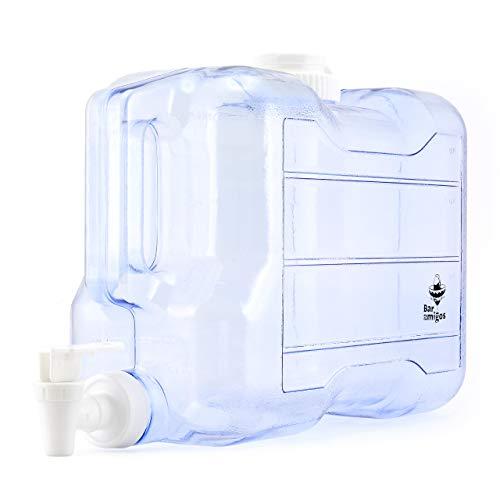 Barra Amigos - Dispensador de tapón de agua para escritorio, plástico, ideal para oficina, camping, zumo, cóctel: Amazon.es: Hogar