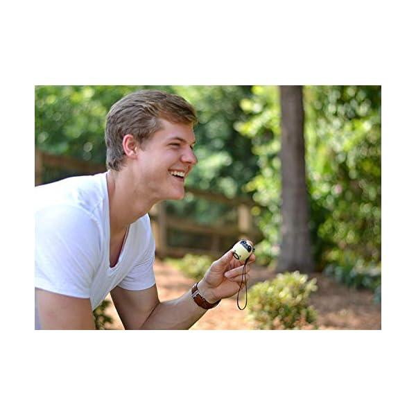 TBS2520 Mini Enceinte Bluetooth sans Fil - Mini-Animal Chien - Super Mignon & Puissante - 3 Watts - Kit Main-Libre Téléphone & Selfie - Appli pour Jouer - pour iPhone Samsung Huawei etc & Tablette 7