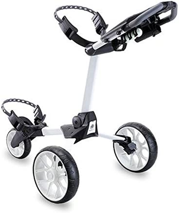 Stewart Golf USA R1-S Push Cart White W White Wheel