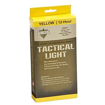 Tac Shield Tactical 12 Hour Light Stick (10-Pack)