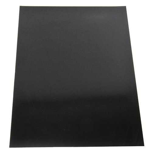 Magnet Expert Ltd - Foglio magnetico flessibile decorativo, 297 x 210 x 0,85 mm, colore: Nero MFA4(BK)-1