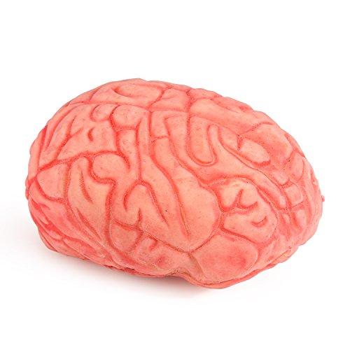 ONEDONE Soft Bloody Brain Mold Horror Halloween (Make Fake Brains Halloween)