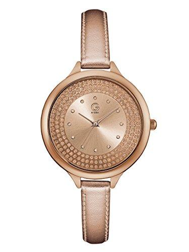G by GUESS Women's Rose Gold-tone Metallic Watch