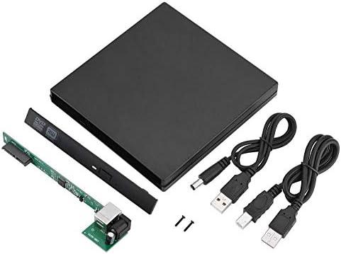 Wendry Caja Externa de la Unidad Óptica USB, Carcasa de ABS, Caja ...