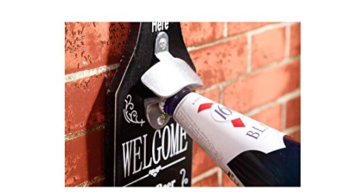 Beauqueen Personalità Birra banda Incorporated Bar Retro Tatuaggi Restaurant Cafe decorazione della parete di sospensione creativa Opener