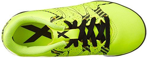 adidas Performance X15.4 TF Jungen Fußballschuhe neongelb / schwarz