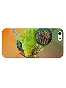 3d Full Wrap Case For Iphone 5/5S Cover Animal Insect Head