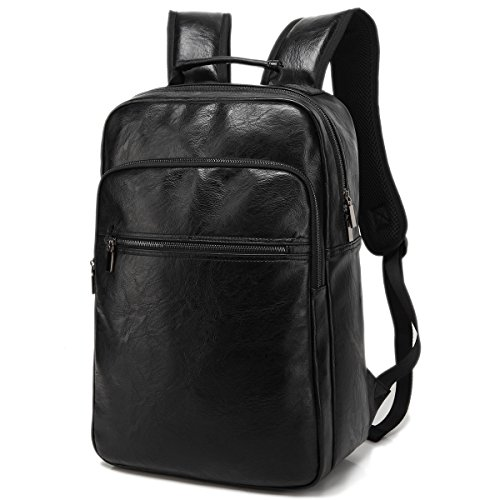 Quadrate Leather Backpack College Rucksack product image