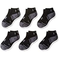 Under Armour Boys Resistor III Lo Cut Socks (6 Pack)