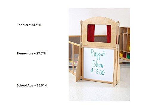 T-Height Puppet Theater (T Ht.-18.5 in. L x 41.5 in. W x 53 in. H (33 lbs.))
