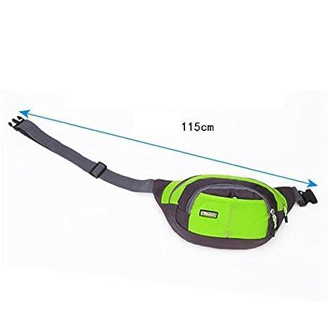 Bluester Men Women Running Bum Bag Travel Handy Hiking Sport Fanny Pack Waist Belt Zip Pouch
