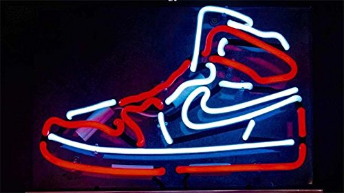 Sports Neon Signs - GreeneerG Sneakers Sports Shoe Porcelain Decor Beer Gift Boutique Store Custom Neon Sign