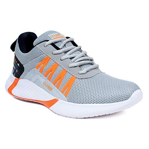 Ethics Men's Sports Latest Stylish Casual Sneakers/Lace up Lightweight Shoes for Running/Walking & Gym Shoes for Men's