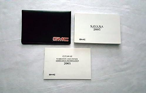 2005 gmc savana owners manual gmc amazon com books rh amazon com 2000 GMC Savana Conversion Van 2005 gmc savana 2500 owners manual