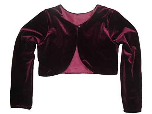 Cardigan Perfect for Any Occasion Burgundy 7-8 ()