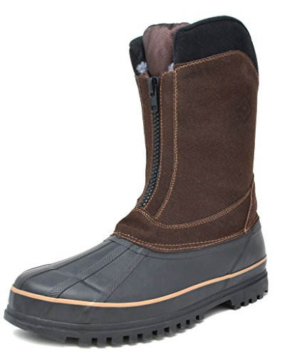 Image of DREAM PAIRS Men's Insulated Waterproof Winter Snow Boots