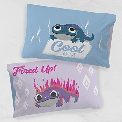 SuperHeroStuff Frozen Bruni The Fire Spirit Salamander Hot /& Cold Pillow Case