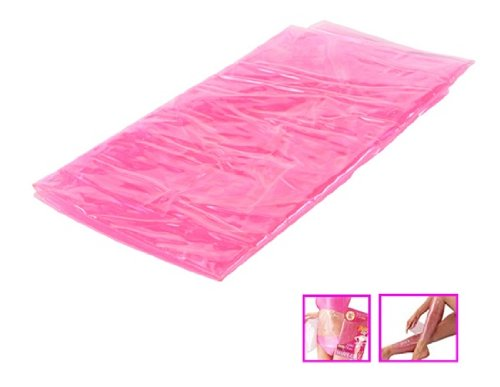 Sauna Leg/Waist/Abdomen Slimming Wrap Belt Set (Pink)