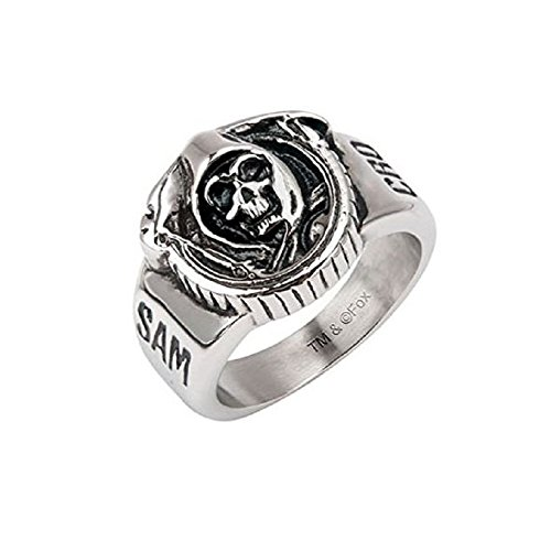 Inox Officially Licensed Sons of Anarchy Stainless Steel Grim Reaper Ring Sz 11 (Rings Sons Of Anarchy)