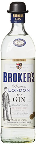 Brokers Dry Gin (1 x 0.7 l)