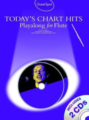 Download Guest Spot: Today's Chart Hits - Playalong for Flute PDF
