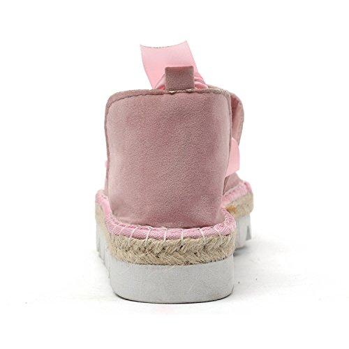 Rose Sandale Plate Couleur Printemps Bonbon Shoes Bohême Poissons Décontractée De Plage De Femme Été Frestepvie Mode Bouche Chaussures Talon 8qxUt