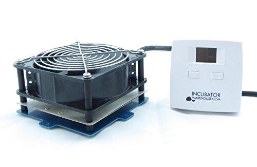 Incubator Kit - IncuKit™ XL for Cabinet Incubators (IncuStat™ Basic Thermostat, 1 x Fan/Heater Unit (125 Watts))