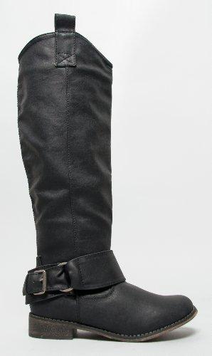 Breckelles Women Rider-16 Boots Black
