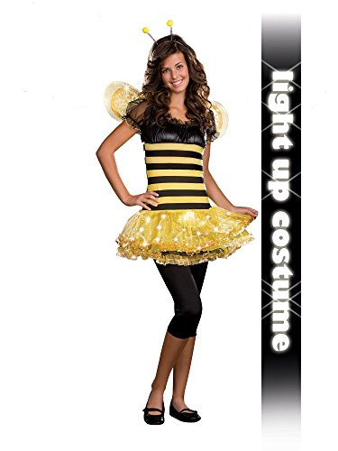 [Junior Busy Lil' Bee Costume - Teen Large] (Busy Lil Bee Child Costumes)