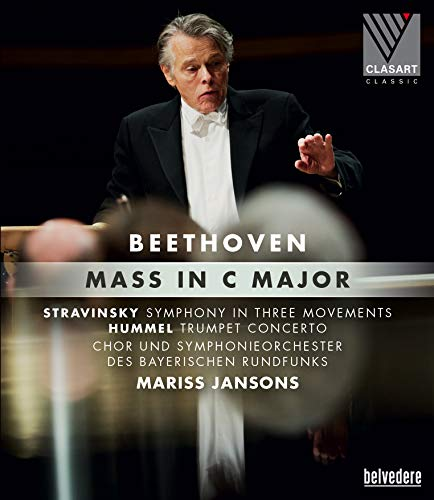 Concerto Movement - Beethoven: Mass in C Major; Stravinsky: Symphony in Three Movements; Hummel: Trumpet Concerto [Blu-ray]