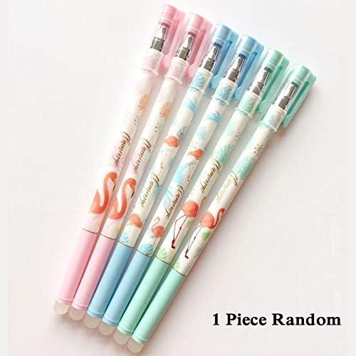12pcs 0.5mm Slim Magic Erasable Pen Gel Pen Blue Ink Gel Pen Students Stationery