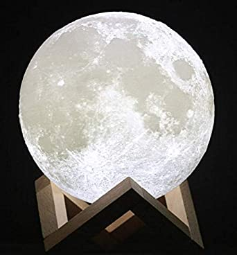 LAMPARA 15 cm EN FORMA DE LUNA diam kZiuPTlwOX