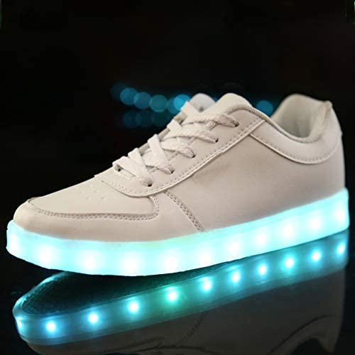Rojeam Led Shoes Light Up Trainers for Boys Girls - 3