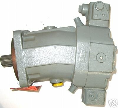 AA6VM55HA1/63W-VSD517 - Bent Axis Hydraulic Motor. 1-1/4-14 Splined Shaft - 4 Bolt C Mount (5
