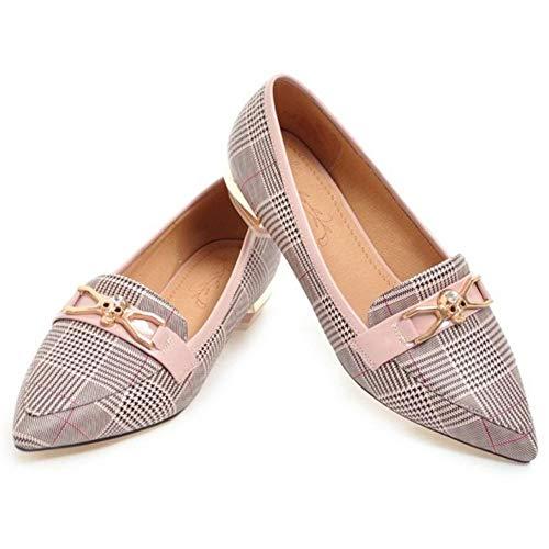 Shoes Donne Moda Rosa Melady Brogue Piatto FSIZwFvqp