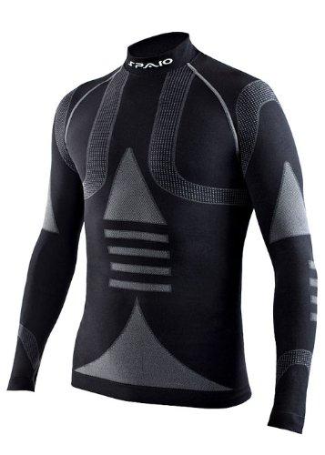 SPAIO ® MOTO LINE - Herren Skiunterwäsche Funktionswäsche Langarm Shirt DRYARN® - THERMOACTIV
