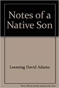 notes of a native son baldwin essay Notes of a native son analysis essayjames baldwin uses a lot of ethos in his essay to show his position as a black man.