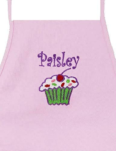 Personalized Child Apron Embroidered With Name and Design from All About Me Publishing