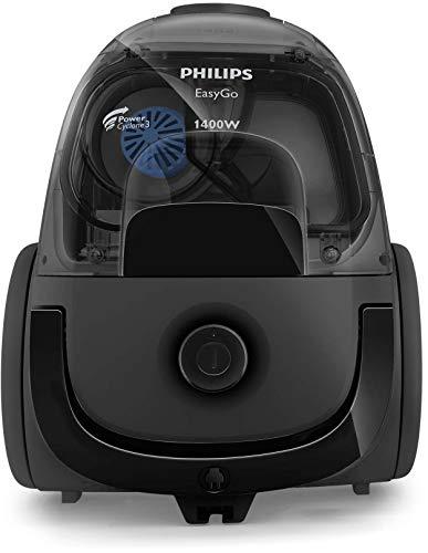 Philips PowerCyclone 3 1400W Bagless Vacuum Cleaner, FC8087/61, Black, 2 Year Warranty, UAE Version