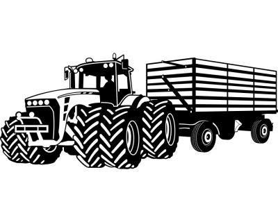 Samunshi® Wandtattoo Großer Traktor mit Anhänger Trecker Kinderzimmer Kinder Wandaufkleber Wandaufkleber Wandaufkleber in 8 Größen und 20 Farben (140x59cm grün) B06WD62WF7 Wandtattoos & Wandbilder c14e16