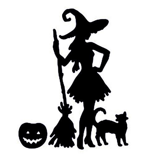 TOOGOO Pumpkin Witch Metal Cutting Dies for Halloween Scrapbooking Steel Craft Die Cut Creative Stamp Embossing Cards Stencil -