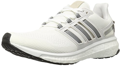 adidas Performance Women's Energy Boost 3 W Running Shoe, White/Solid Grey/Crystal White S, 7 M US (Adidas Women Shoes Gazelle)