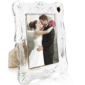 Waterford Crystal Wedding 5 X 7 Photo Frame Amazoncouk Kitchen