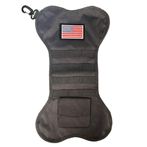- Tactical Christmas Stocking with Molle Gear (Black C)