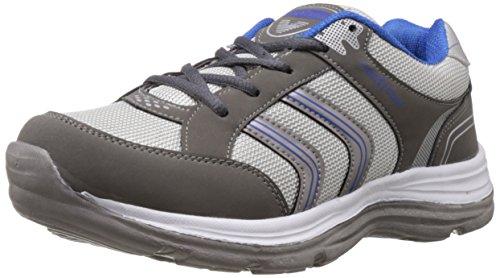 Vokstar Men's Grey and Royal Blue Running Shoes - 10 UK (V230)